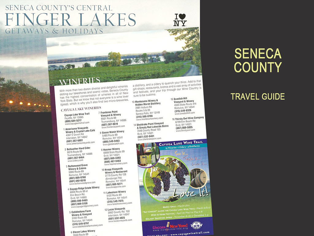 Seneca County Travel Guide