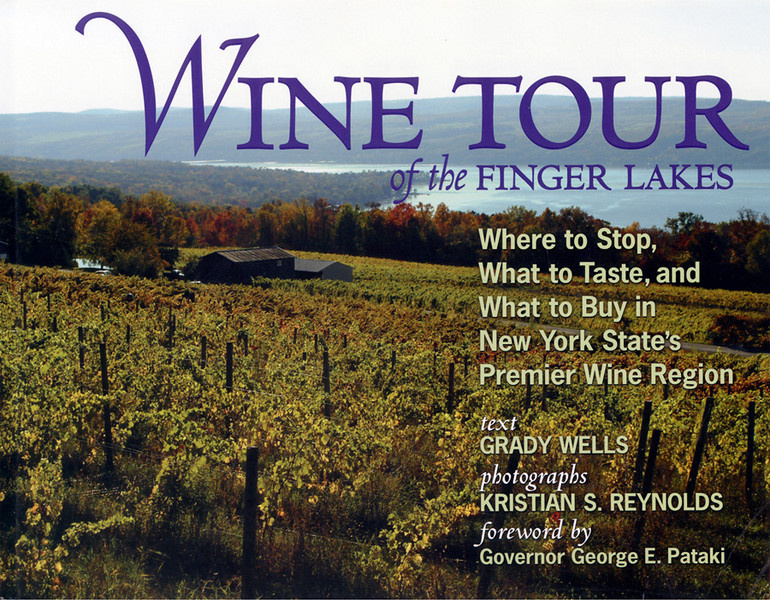 Wine Tour of the Finger Lakes, Book