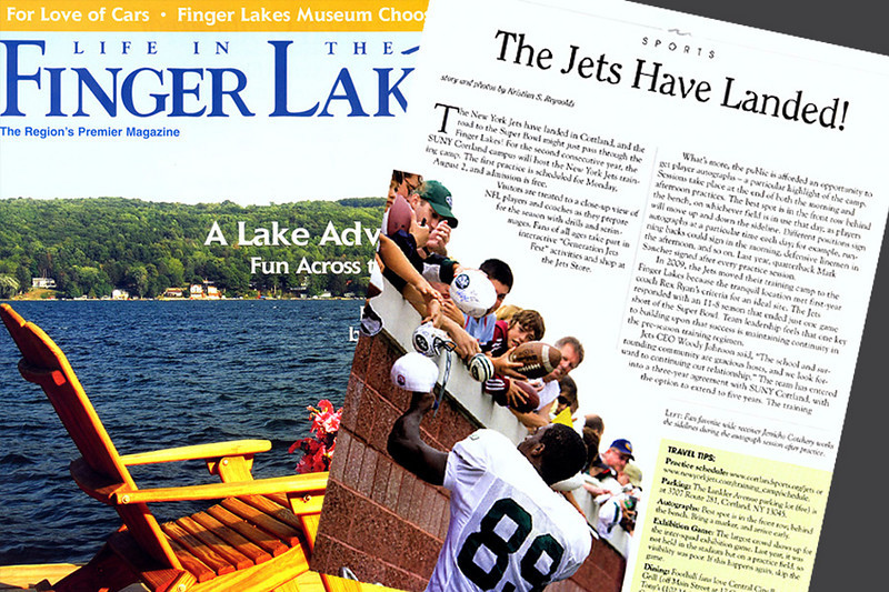 Life in the Finger Lakes, Magazine, Story