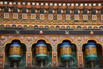 Prayer Wheels (Bhutan)