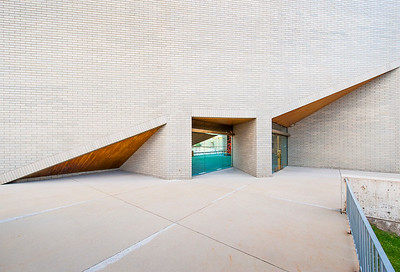 Abravanel Hall - north exit doors