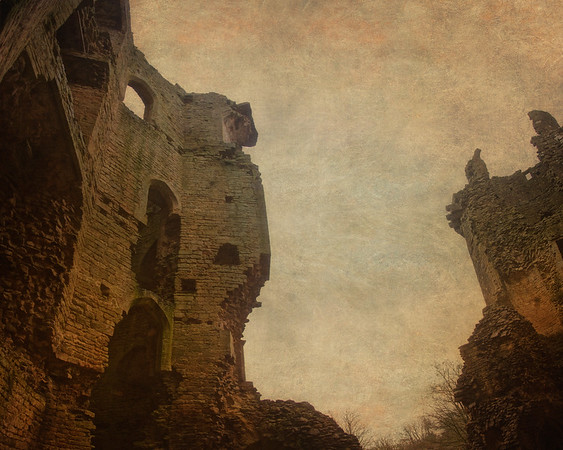 Nunney Castle, Somerset, Great Britain