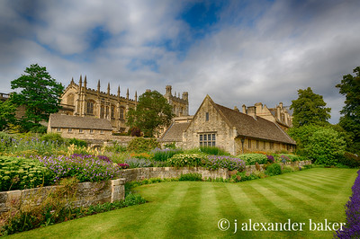 Christ Church College Gardens, Oxford