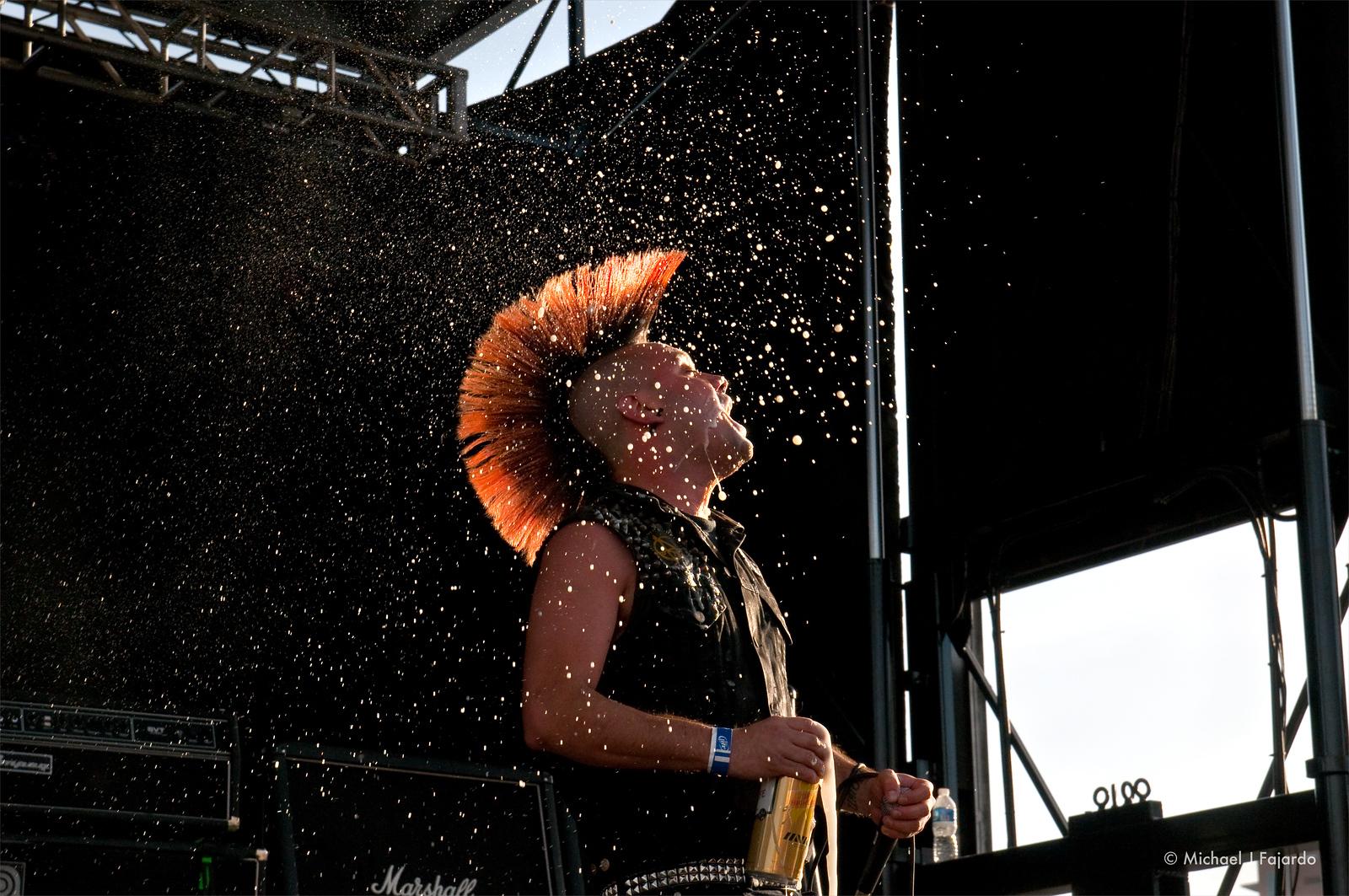 Dave Tejas<br /> Krum Bums<br /> BYO Records' 13th Annual Punk Rock Bowling Music Festival<br /> Las Vegas, NV  May 29, 2011