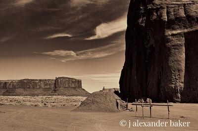 Navajo Hogan, Monument Valley