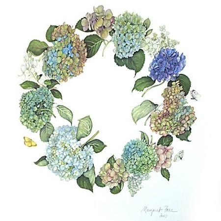 © <b>Margaret Farr</b> - Hydrangea Wreath