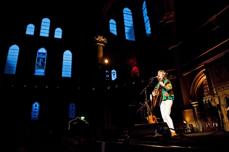 Martha Wainwright - Union Chapel, London 15/08/13   Photo by Steve Asenjo