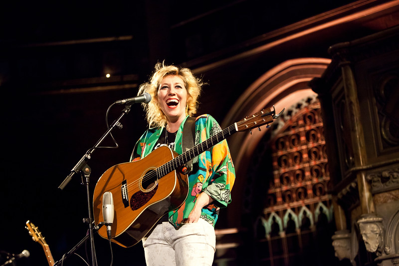 Martha Wainwright - Union Chapel, London 15/08/13 | Photo by Steve Asenjo