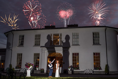 4th of July Wedding Photography Springfort Hall Country House Hotel