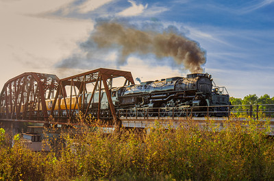The Union Pacific Big Boy 4014 Locomotive