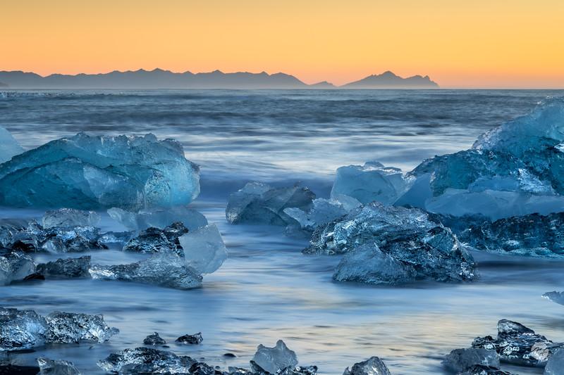 Sunrise ice
