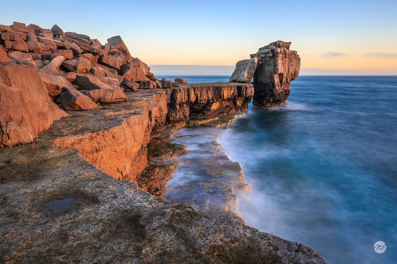 Pulpit Rocks golden hour
