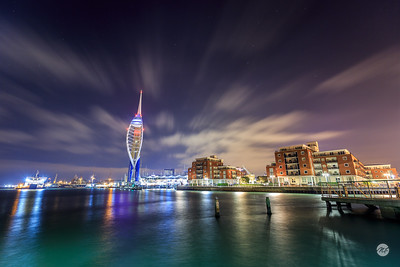 Spinnaker Tower and Portsmouth waterfront