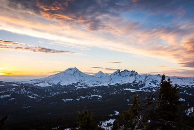 Tumalo Mountain Sunset