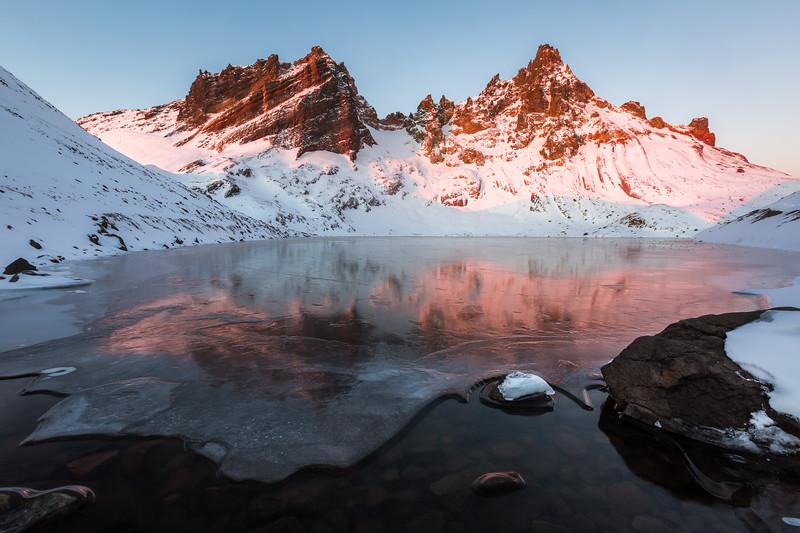 No Name Frozen Lake