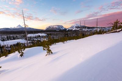Cascade Winter Sunrise