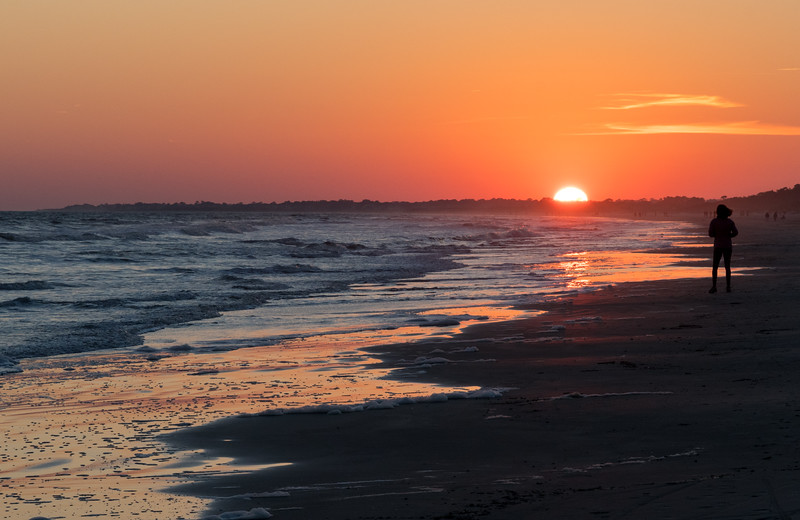 Sunset at Kiawah Island, SC.