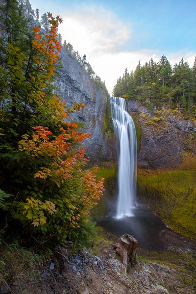 Salt Creek Falls in Fall