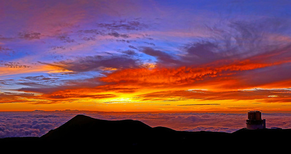 Mauna Kea Observatory - Kona, Hawaii 2016