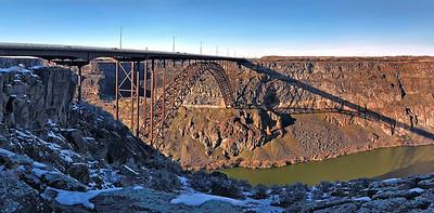 Perinne Bridge - Twin Falls Idaho 3/1/2017