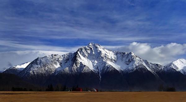 Pioneer Mountain,  Wasilla Alaska 2015