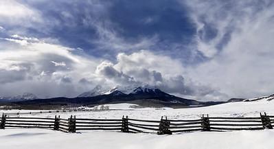 North Pole Peak  near Telluride Colorado - April 2016