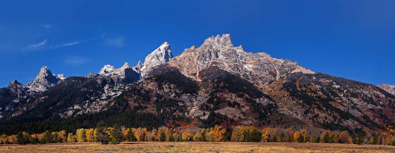 Grand Tetons at Jackson Hole Wyoming