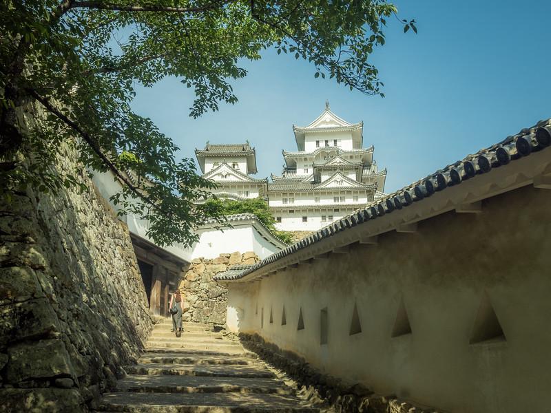 Quiet Moments, Himeji Castle, Japan