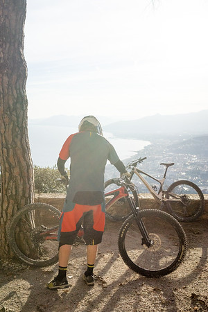 Finale Ligure, Italy (2019) On assignment for Bold Cycles.  Rider: Urs Tschannen