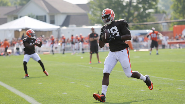 Browns Training Camp