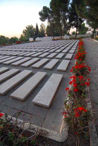 A Jewish cemetery 猶太墓地