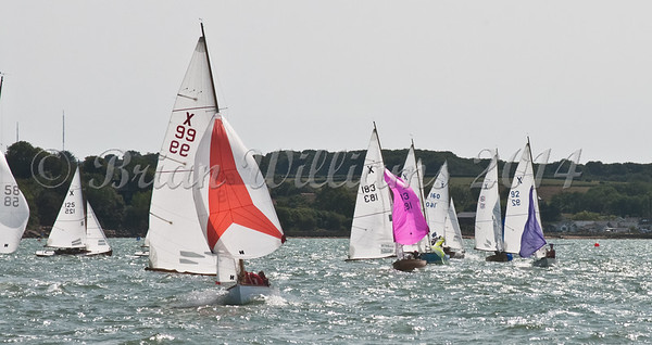 """X One Design racing X99 """"Xin Bai"""" at AAM Cowes Week 2014"""