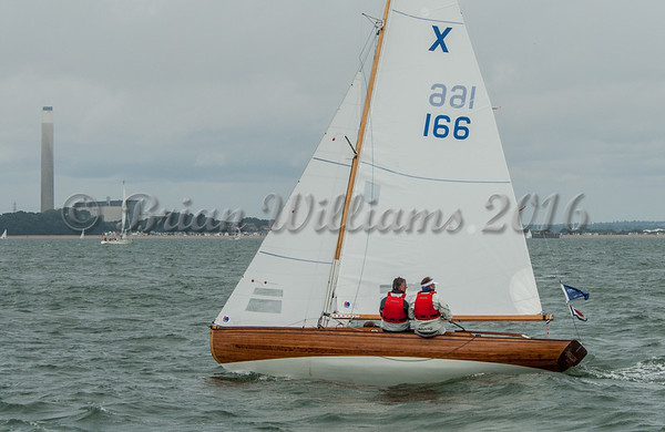 X One Design XOD; X166 Swallow, Cowes Week 2016 day 2