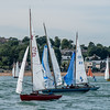 Start of XOD race Lendy Cowes Week 2018 Day 1