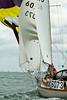 "K6073 ""True Love"" a Holman 26 skippered by Jane Gerber taking part in racing day 8 Cowes week 2013"
