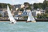 X One Design racing at AAM Cowes Week 2014