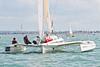 "Multihull GBR 160X ""Wandering Glider"" at Start AAM Cowes Week 2014"