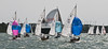 "X One Design racing X123 ""Lara"" at AAM Cowes Week 2014"