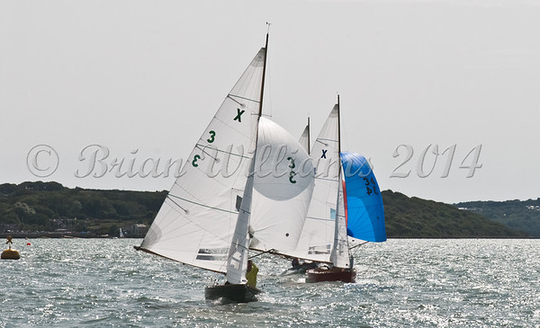 """X One Design racing X3 """"Silhouette"""" at AAM Cowes Week 2014"""
