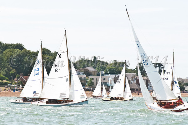 """X one design X65 """"Veronique""""  racing at AAM Cowes Week 2014"""