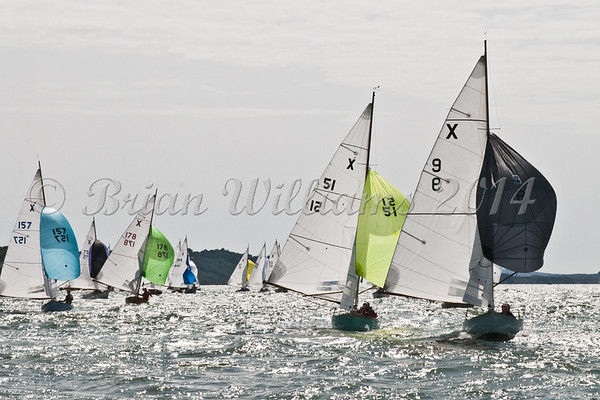 """X One Design racing X51 """"Athena"""" at AAM Cowes Week 2014"""