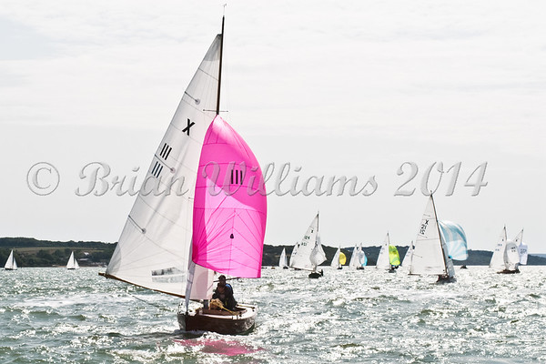 """X One Design racing X111 """"Annabel"""" at AAM Cowes Week 2014"""