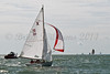 """X One Design racing X16 """"Mystery"""" at AAM Cowes Week 2014"""
