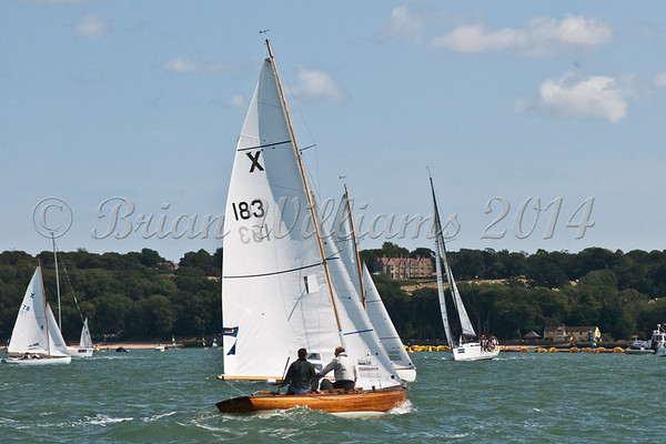 """X One Design X183 """"Condor"""" racing at AAM Cowes Week 2014"""
