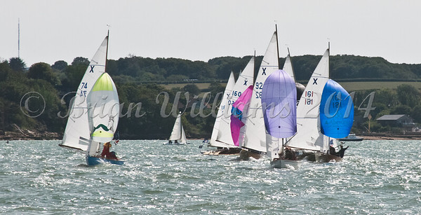 """X One Design racing X74 """"Fiona"""" at AAM Cowes Week 2014"""