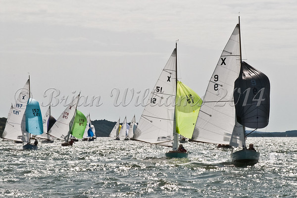 "X One Design racing X9 ""Zest"" at AAM Cowes Week 2014"