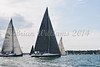 "GBR 745R ""Werewolf""  at start of racing AAM Cowes Week 2014"