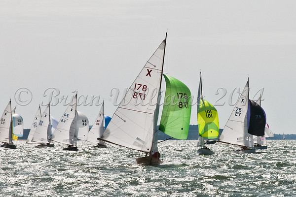 """X One Design racing X178 """"Beatrix"""" at AAM Cowes Week 2014"""