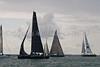 "GBR 1682R ""Tokoloshe II"" and GBR 721X ""CV21 Henri Lloyd"" at start of racing AAM Cowes \Week 2014"