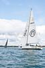 """GBR 8652R """"Albatross 2""""  at start of racing AAM Cowes Week 2014"""